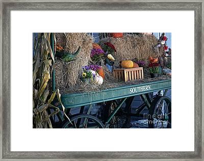 Rolling Into Fall Framed Print by JW Hanley