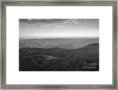 Rolling Mountain Framed Print