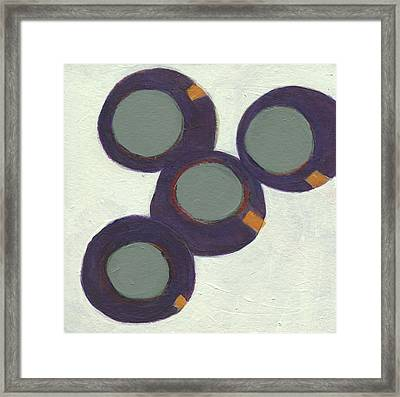 Rolling On 1 Framed Print by Jean Beal