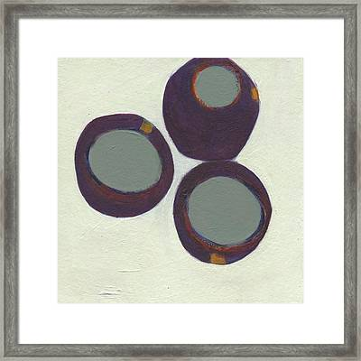 Rolling On 3 Framed Print by Jean Beal