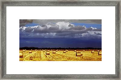 Rolling On Framed Print