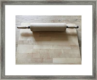 Rolling Pin Framed Print by Tom Gowanlock