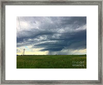 Rolling Plains Framed Print by Josh Alecci