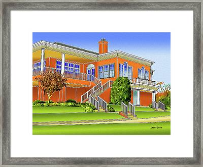 Rolling Road Golf Club Framed Print by Stephen Younts