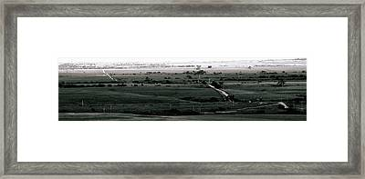 Framed Print featuring the photograph Rolling Roads by Thomas Bomstad