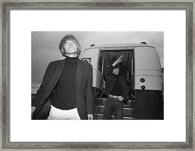 Rolling Stones At Dublin Airport Framed Print