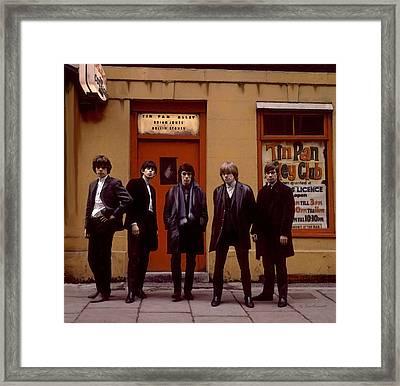 Rolling Stones Tin Pan Alley Brian Jones Framed Print