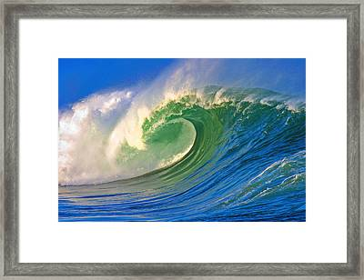 Rolling Through Framed Print by Paul Topp