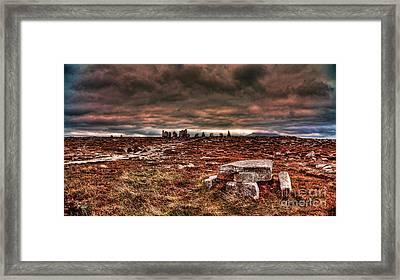 Rolling Thunder Framed Print by Kim Shatwell-Irishphotographer