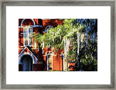 Rolling Toomer's And Hargis Hall Framed Print by JC Findley