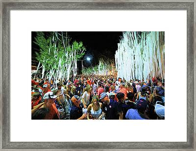 Rolling Toomer's Corner Framed Print by JC Findley