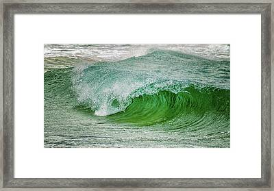 Rolling Wave Framed Print