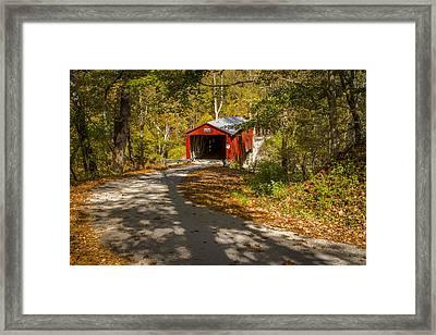 Rollingstone Covered Bridge  Framed Print