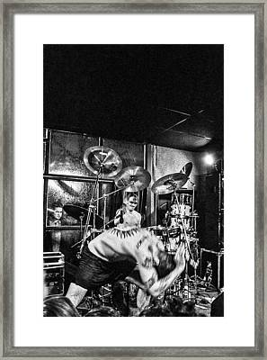 Rollins Band Framed Print by Toni Farina