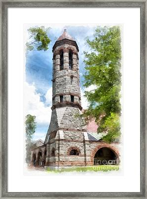 Rollins Chapel Dartmouth College Framed Print by Edward Fielding