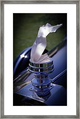 Rolls Lady Framed Print