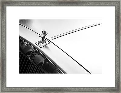 Rolls Royce 1 Framed Print by Jez C Self