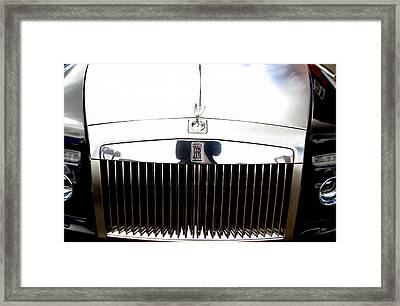 Rolls Royce 2 Framed Print by Jez C Self