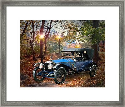 Rolls Royce Phantom Framed Print by George Zucconi