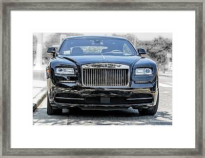 Rolls - Royce Wraith Coupe 2016 Framed Print