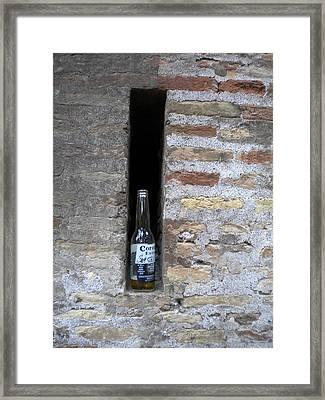 Roma Corona Framed Print by Nancy Ferrier