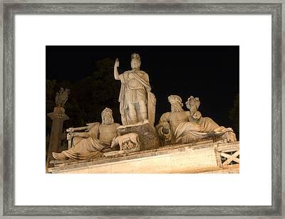 Roma Tra Tevere E Aniene Framed Print by Fabrizio Ruggeri