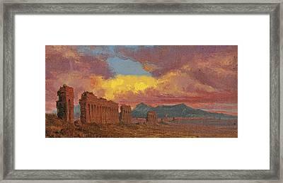 Roman Aqueduct Framed Print