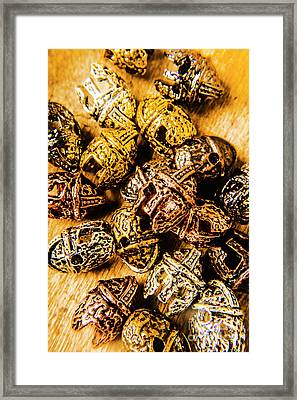 Roman Armoury Den Framed Print by Jorgo Photography - Wall Art Gallery