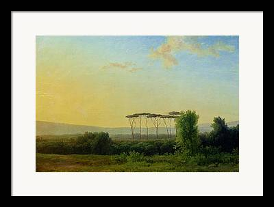 Campagne Romaine Framed Prints