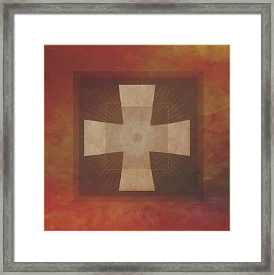 Roman Cross #8 Framed Print