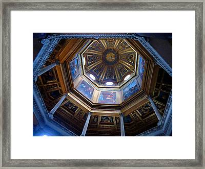 Roman Dome Framed Print by Mindy Newman