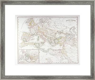 Roman Empire At The Time Of Augustus Framed Print by Fototeca Storica Nazionale