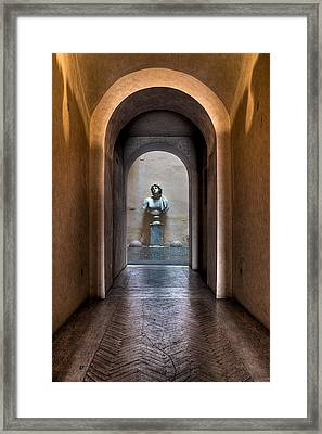 Roman Entry Framed Print