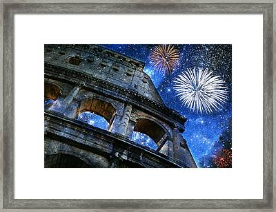 Roman Holiday Framed Print by Aurelio Zucco