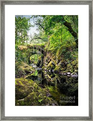 Roman Packhorse Bridge Framed Print