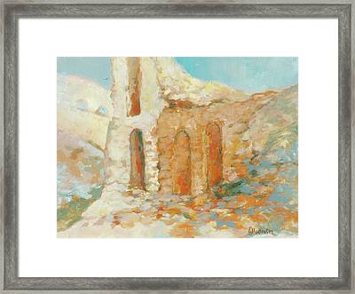 Roman Relicts 14 Framed Print by Ekaterina Mortensen