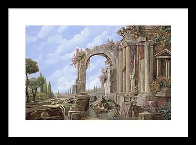 Roman Arch Framed Prints