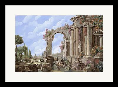 Roman Statue Framed Prints