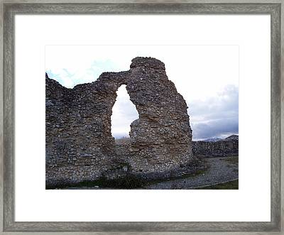 Roman Ruins Framed Print