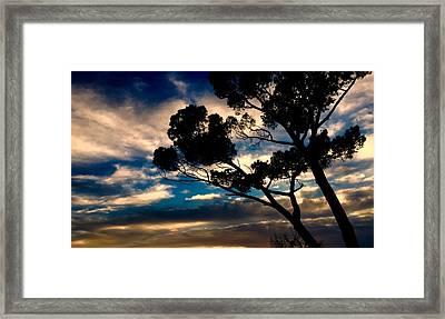 Roman Sunset Framed Print