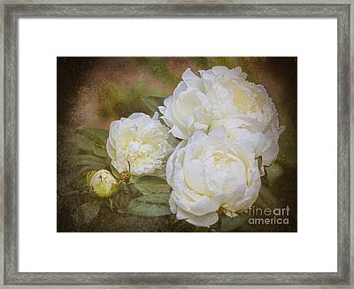 Romance And Prosperity Framed Print by Elizabeth Winter