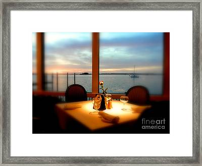 Framed Print featuring the photograph Romance by Elfriede Fulda
