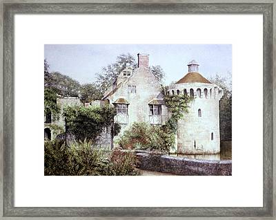 Romance In Ruin Framed Print by Rosemary Colyer