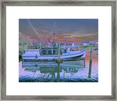 Romance Of The Sea Framed Print