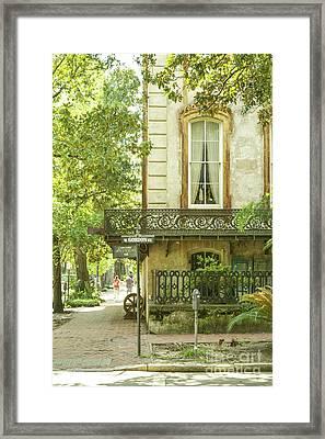 Romance. Savannah Framed Print