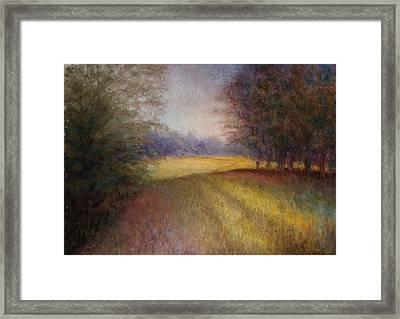 Romance Trail Framed Print