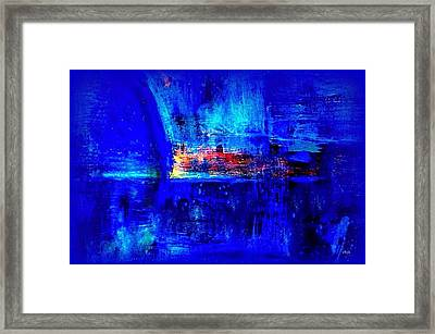 Romancing The Arctic Dedicated  Framed Print