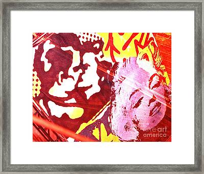 Romancing The Mall Framed Print by Chuck Taylor