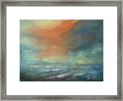 Romancing Turner Framed Print