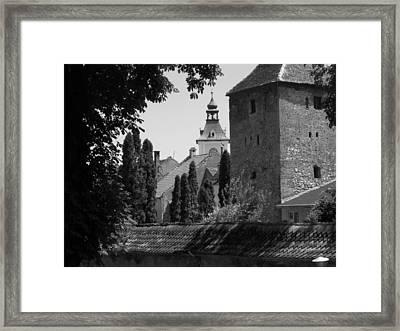 Romania Framed Print